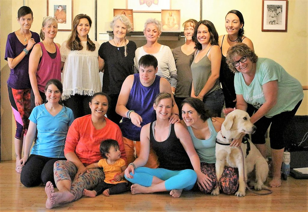 Reno 2017 Yoga for the Special Child® Basic 1 Program. Twelve wonderful participants, nine are local and joining our Yoga for the Special Child Team here at The Yoga Center - Reno.