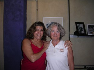Sonia Sumar and Kathy Randolph