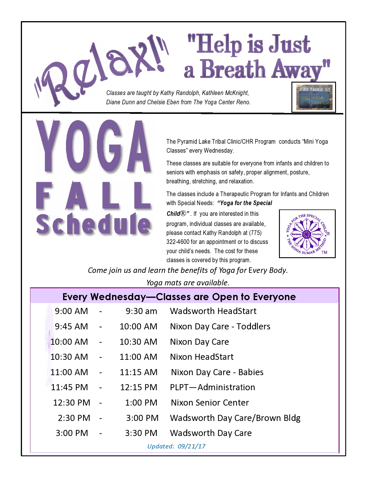 PLPTC Fall 2017 Yoga Mini Classes -page0001