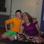 Reno, 2015 Yoga for the Special Child Continuing Education. Samuel Baugh and Sonia Sumar, Samuel commuted all the way from the Bay Area to volunteer in our Teacher Training!