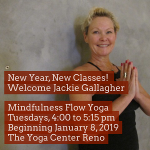 Mindfulness Flow Yoga with Jackie Gallagher