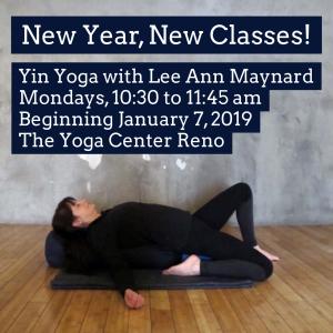 Yin Yoga with Lee Ann Maynard