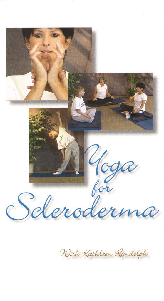 Yoga for Scleroderma front cover